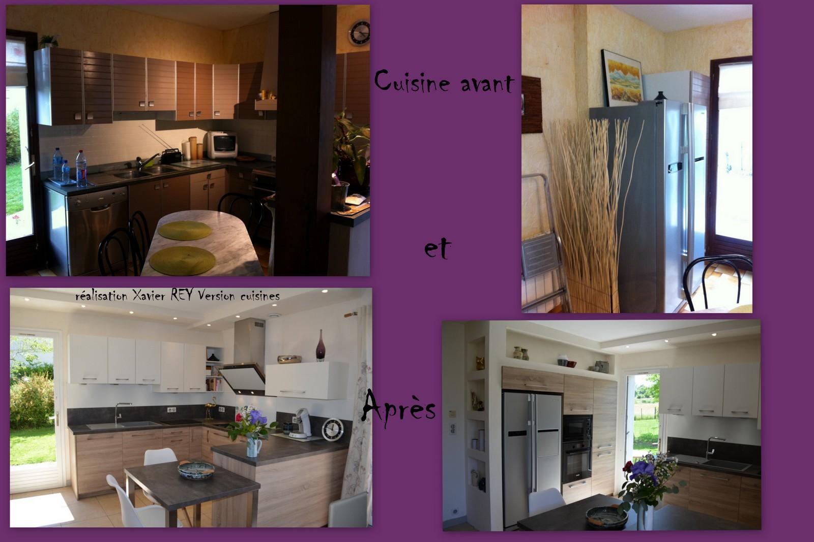 une cuisine avant et apr s travaux. Black Bedroom Furniture Sets. Home Design Ideas